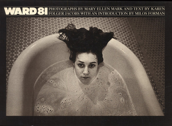 Photo of Mary Ellen Mark's bookcover for Ward 81