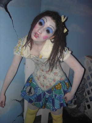 photo of a human doll
