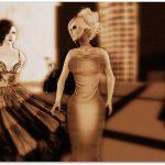 Vanessa Blaylock & Ayara Illios dancing at a party