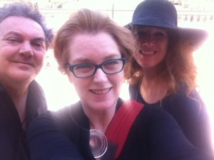 7/13/2014 Michael, Christa and Kate at the NHMLA
