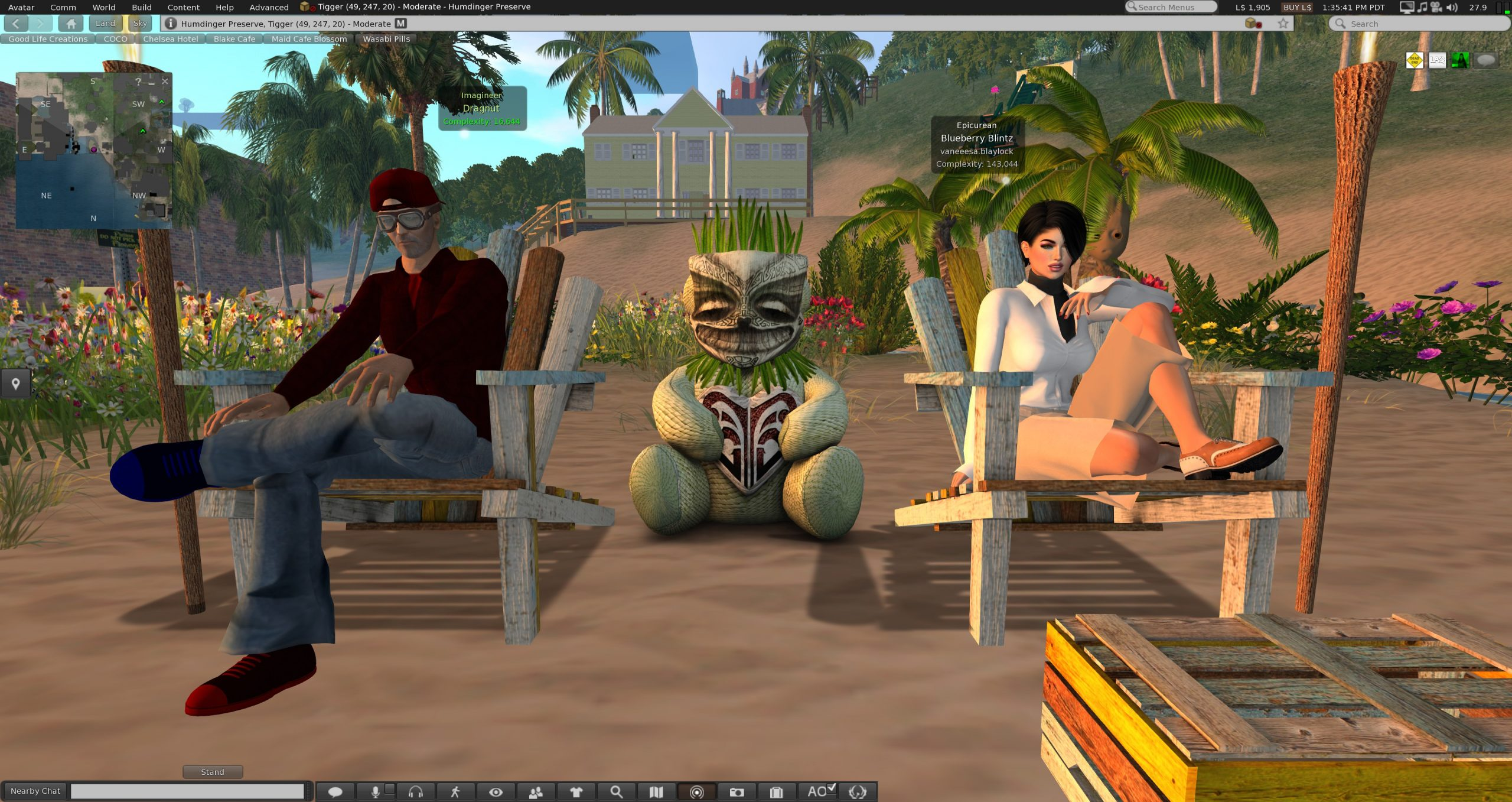 VB 101 – Luncheon with the Avatars
